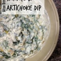 Alton Brown's Spinach & Artichoke Dip