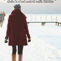 10 Ways To Get 10,000 Steps When It's Too Cold To Walk Outside
