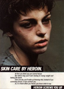 Skin care by Heroin