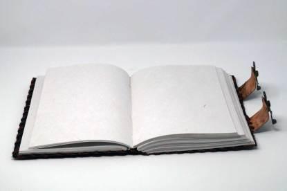 Buch der Schatten offen