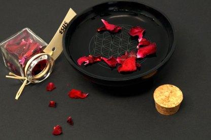 Magische Zutat Rosenblüten