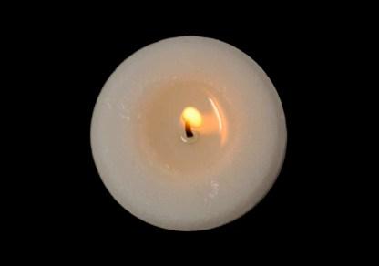 Brennendes Aromalicht