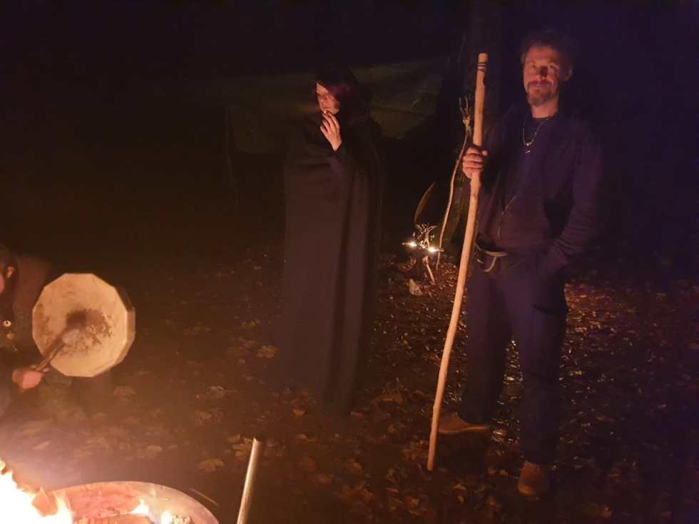 Ritualfeuer Samhain