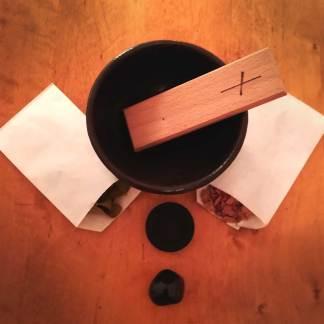 Ritualzubehör spirituelle Reinigung