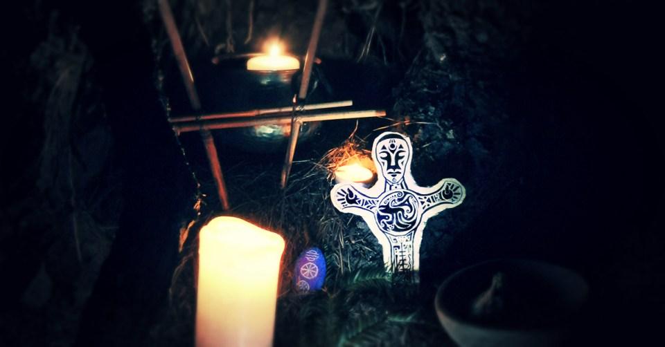 La fête druidique de Samonios, Samain