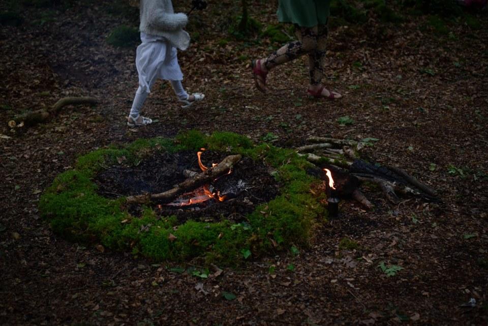Dagdia - feu de cérémonie druidique