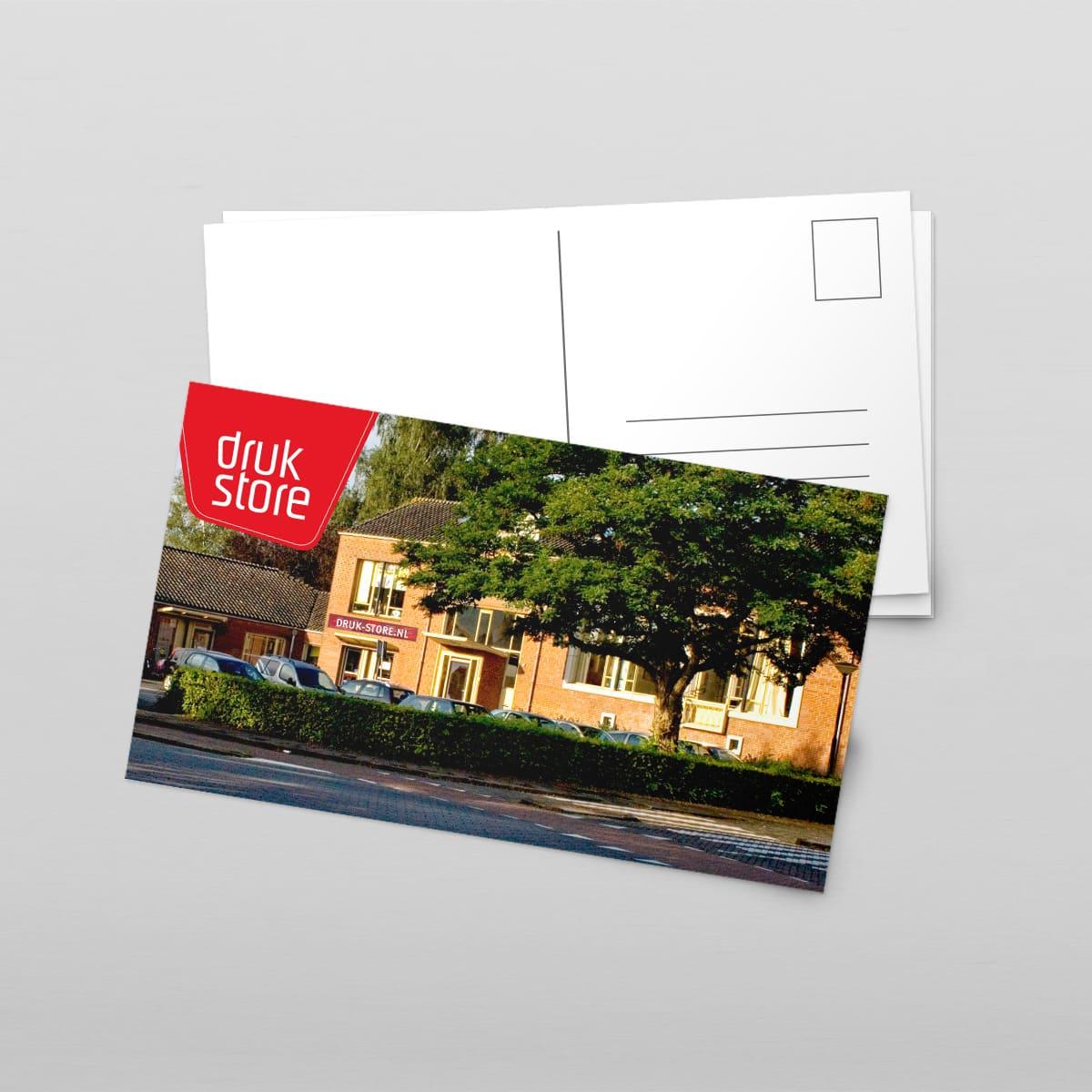Ansichtkaart Druk-Store