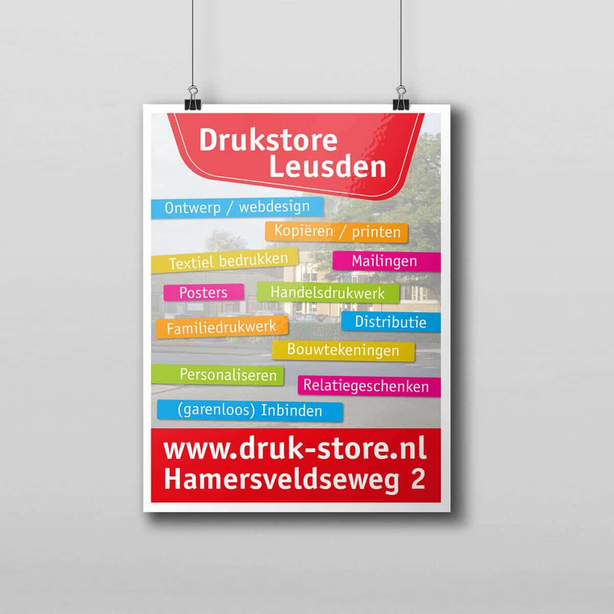 Poster voorbeeldfoto 2 van druk-store