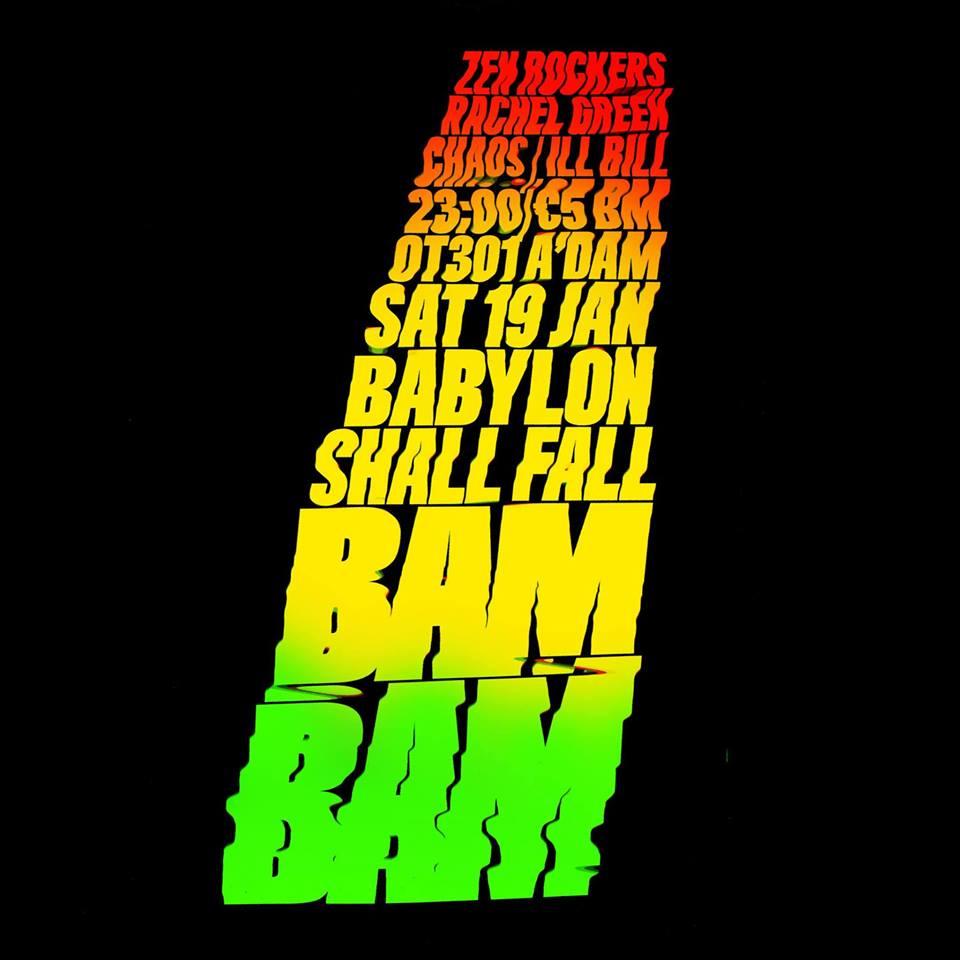 BAM BAM - Babylon shall fall