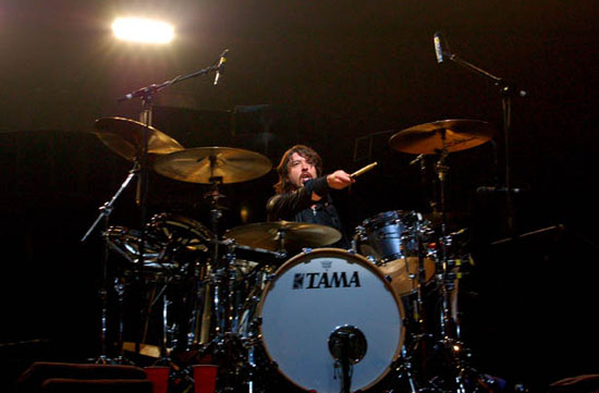 Dave Grohl Drummerworld