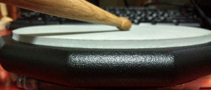 Vic Firth Drum Practice Pad_Side view