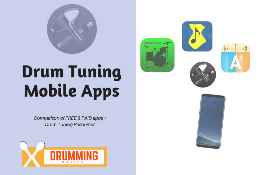 Mobile Apps to Tune Your Drum Set