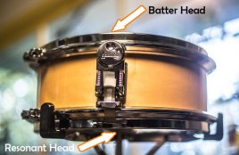 batter head vs resonant head