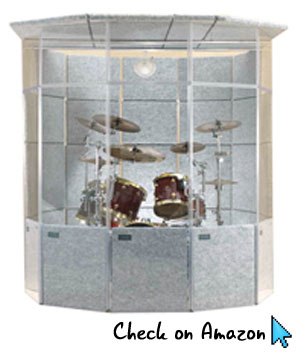 ClearSonic MegaPac Drum Isolation Booth