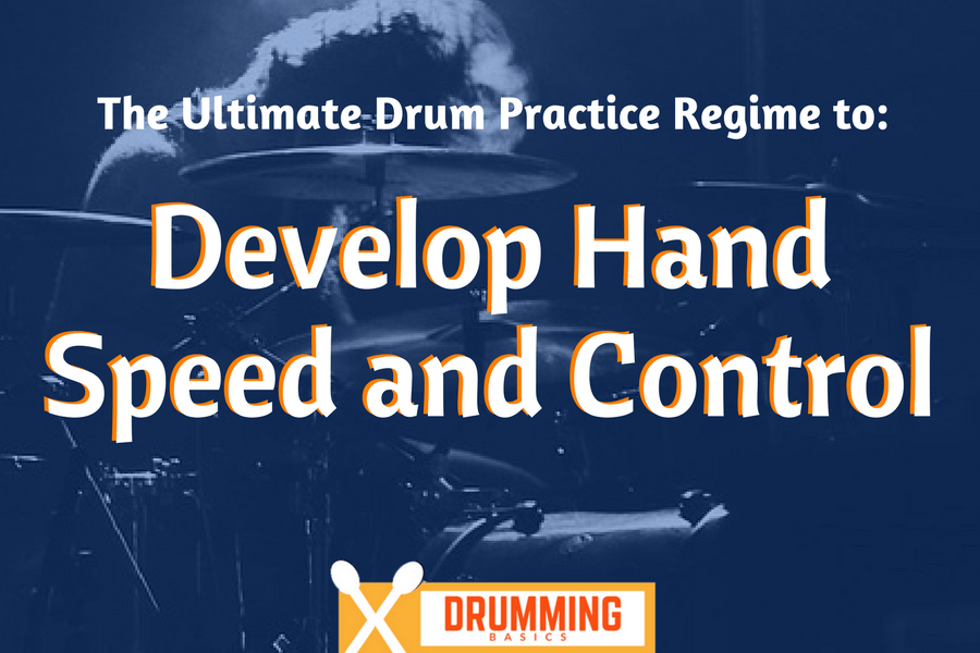 How Drummers can Develop Hand Speed and Control [+11 Drum Practice Exercises]