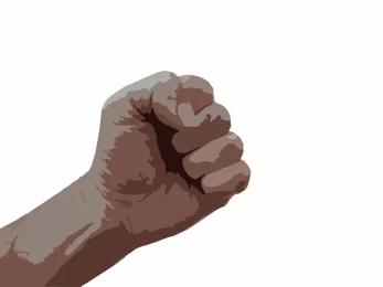 tensed-fist