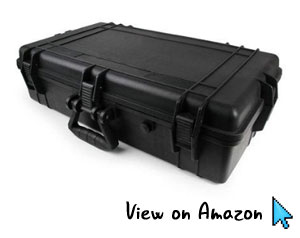 MCM Electronics Black Tactica Equipment Case