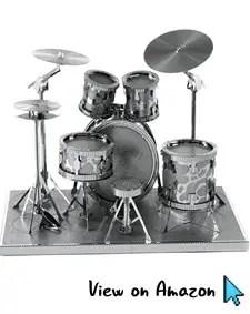 3D Drum Set Metal Model Kit