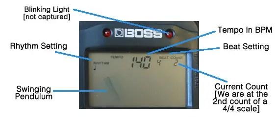 boss-db30c display