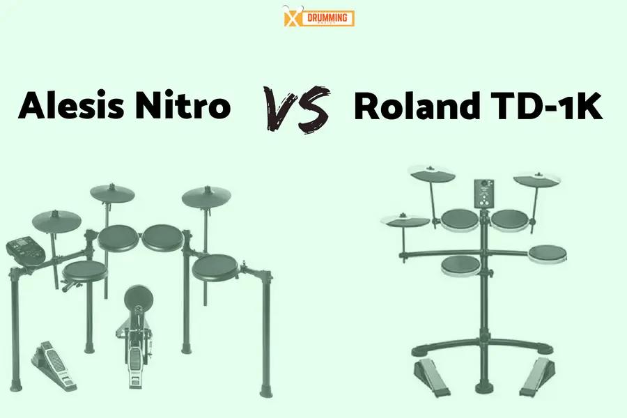 Alesis Nitro vs Roland TD-1K