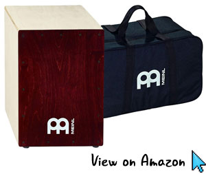 Meinl Wine Red Cafe Snare Cajon