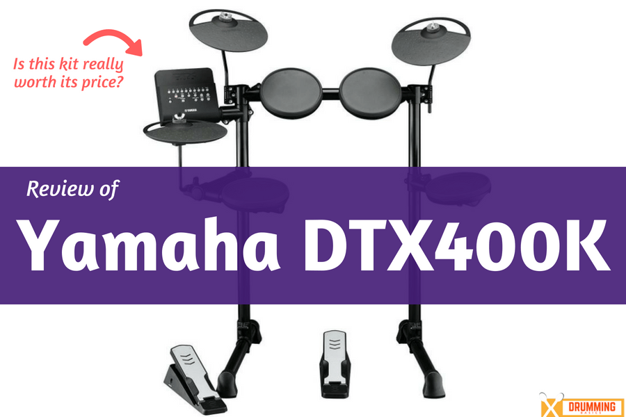 Yamaha DTX400K review