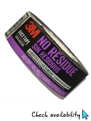 3M no residue duct tape