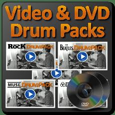Video & DVD Drum Packs