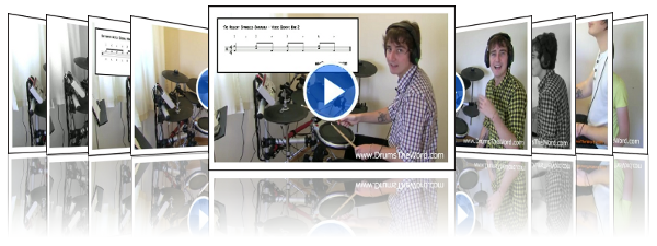 Beginner Video Drum Lessons