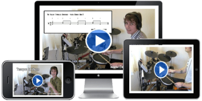 DrumsTheWord.com - Video Drum Lessons