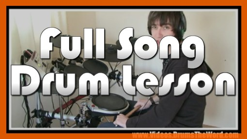 """""""Californication"""" - (Red Hot Chili Peppers) Full-Song Video Drum Lesson Notation Chart Transcription Sheet Music Drum Lesson"""