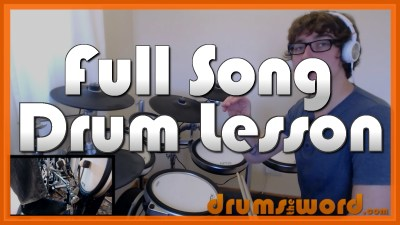 """Run To The Hills"" - (Iron Maiden) Full-Song Video Drum Lesson Notation Chart Transcription Sheet Music Drum Lesson"