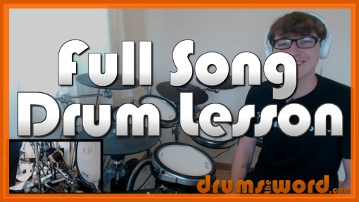 """Taxman"" - (The Beatles) Full-Song Video Drum Lesson Notation Chart Transcription Sheet Music Drum Lesson"