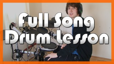 """Use Somebody"" - (Kings Of Leon) Full-Song Video Drum Lesson Notation Chart Transcription Sheet Music Drum Lesson"