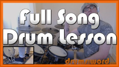 """House Of Fun"" - (Madness) Full-Song Video Drum Lesson Notation Chart Transcription Sheet Music Drum Lesson"