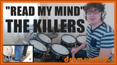 """Read My Mind"" - (The Killers) Full-Song Video Drum Lesson Notation Chart Transcription Sheet Music Drum Lesson"