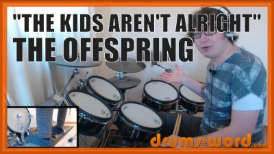 """The Kids Aren't Alright"" - (The Offspring) Full-Song Video Drum Lesson Notation Chart Transcription Sheet Music Drum Lesson"