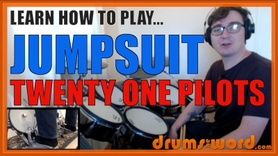 """Jumpsuit"" - (Twenty One Pilots) Full-Song Video Drum Lesson Notation Chart Transcription Sheet Music Drum Lesson"
