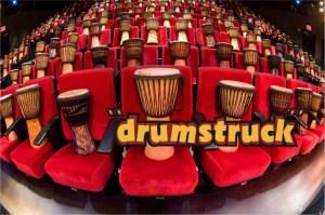 Audience Drums on Seats Drum Struck