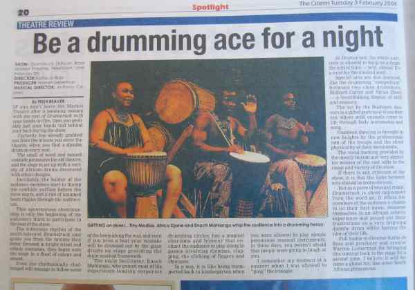 Be a Drumming Ace for a Night!