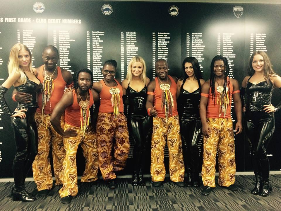 Panthers Meet in Austrailia Drum Struck