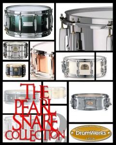 Snare drum samples from Drum Werks