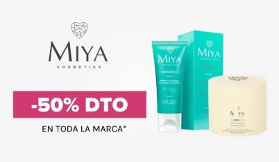 50% discount Miya