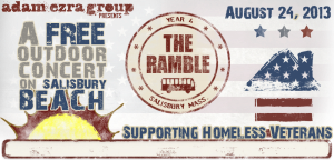 Ramble 4 at Salisbury Beach, August 24, 3 pm