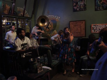 Kristina Morales and the Bayou Shufflers at the Spotted Cat