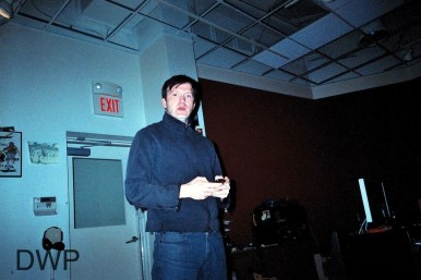 Dave Brophy at Q Division Studios