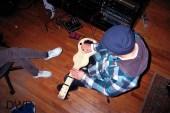 Matt Pynn Laying down Lap Steel