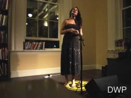 Mieka sings a cappella