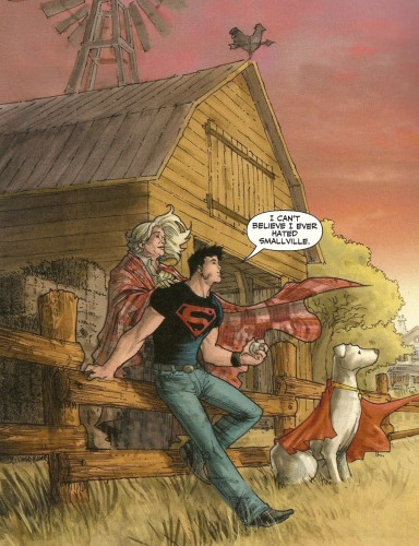 Superboy hated smallville 384x500 Superboy hated smallville