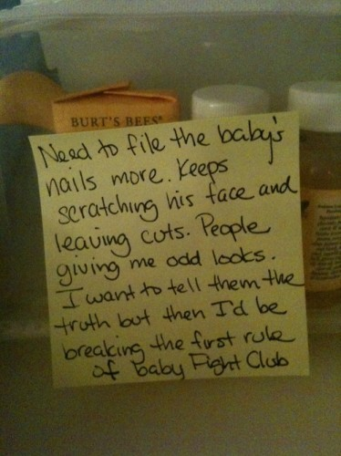 baby fight club